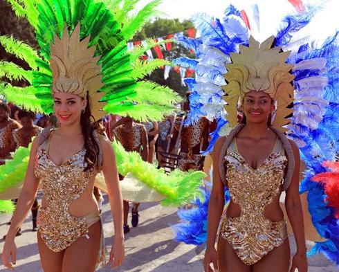 Tekirdağ'da Rio karnavalı