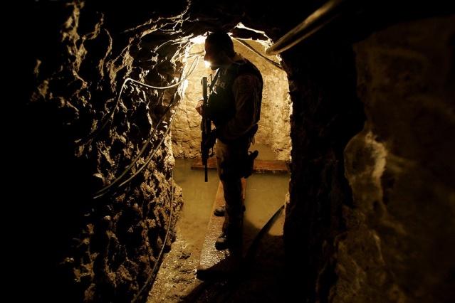 ABD ve Meksika Arasındaki Asansörlü Uyuşturucu Tüneli