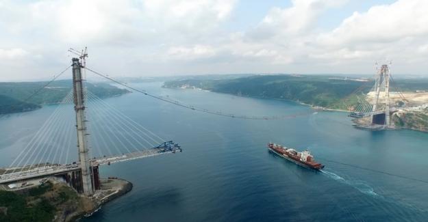 3. Boğaz Köprüsü inşaatında son 76 gün