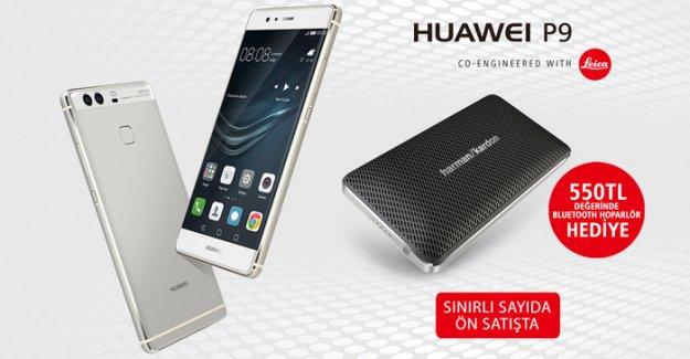 Huawei P9 Ön Siparişle Gittigidiyor'da