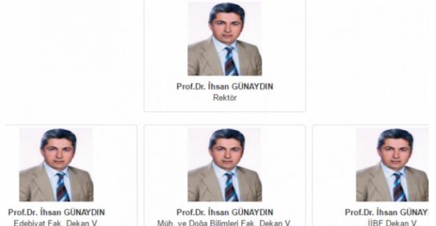 Gümüşhane Üniversitesi'nin Yönetim Kurulu listesi sosyal medyanın gündemine oturdu