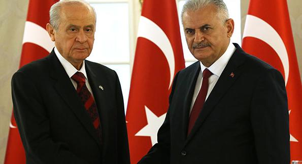 AK Parti, yeni anayasa değerlendirmesini MHP'ye iletti