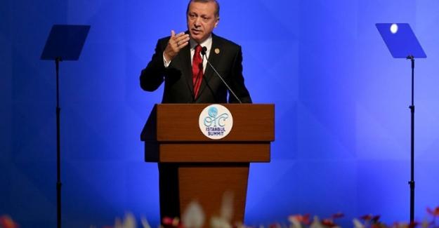 Cumhurbaşkanı Erdoğan, İİT'de AB'ye rest çekti