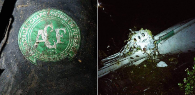 Kolombiya'da Brezilyalı Chapecoense takımının oyuncularını taşıyan uçak düştü