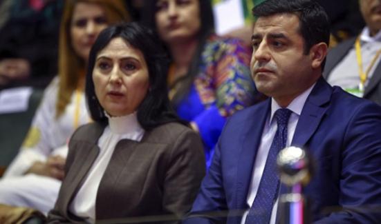 Selahattin Demirtaş dahil 12 HDP'li gözaltına alındı