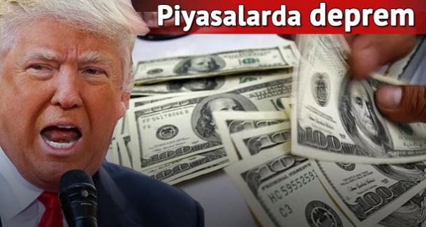 Trump başkan oldu, dolar zirve yaptı