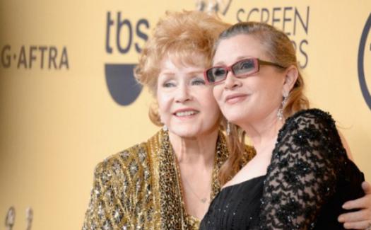 Aktris Debbie Reynolds, kızı Carrie Fisher'ın ölümünden 1 gün sonra hayatını kaybetti