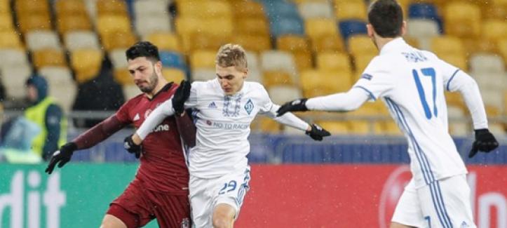 Beşiktaş, Kiev'de dondu! Tarihi hezimet 6-0