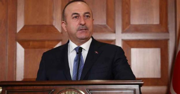 """Çavuşoğlu, """"ABD, YPG'ye silah veriyor, nokta"""""""