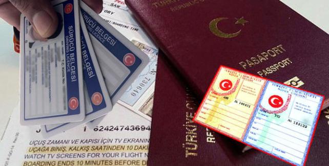 Her şeye ZAM; Pasaporta zam, ehliyete zam, nüfus cüzdanına zam!