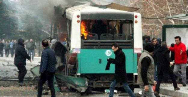 Kayseri'de izine çıkmış askerlere bombalı saldırı! 13 asker şehit oldu