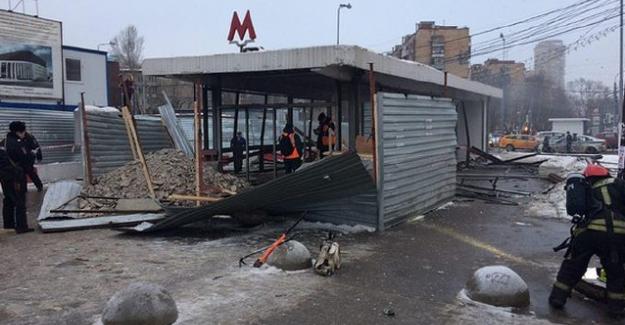 Moskova metrosunda patlama!