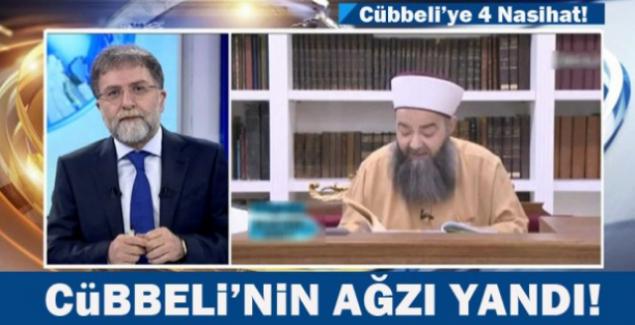 """Cübbeli Ahmet, """"Ahmet Hakan abaza kalma evlen"""""""