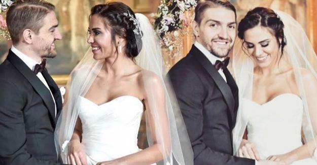 Caner Erkin ve Şükran Ovalı, Roma'da evlendi