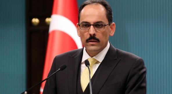 "Cumhurbaşkanı Sözcüsü İbrahim Kalın, ""Bu bir şaka mı?"""