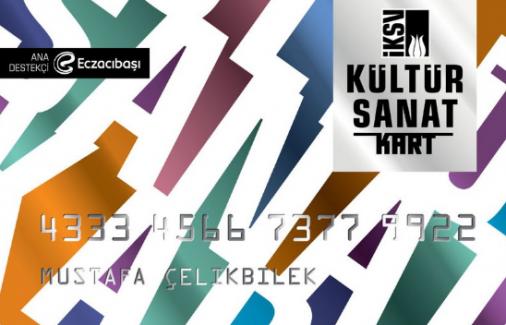 İKSV'den üniversite öğrencilerine 250 lira değerinde sanat kartı