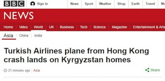 İngiliz BBC'nin THY'yi uluslararası arenada yıpratma çabası sosyal medyada tepki topladı