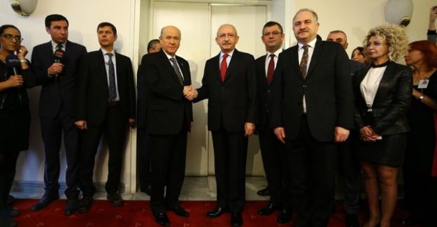 """Kılıçdaroğlu, """"Bahçeli'ye anayasa değişikliğiyle ilgili kaygılarımızı ilettik"""""""