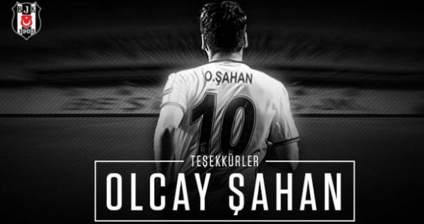 Trabzon'a imza atan Olcay Şahan'a Beşiktaş'tan teşekkür mesajı