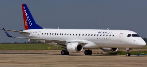 Borajet uçuşlarına bir süreliğine ara verdi