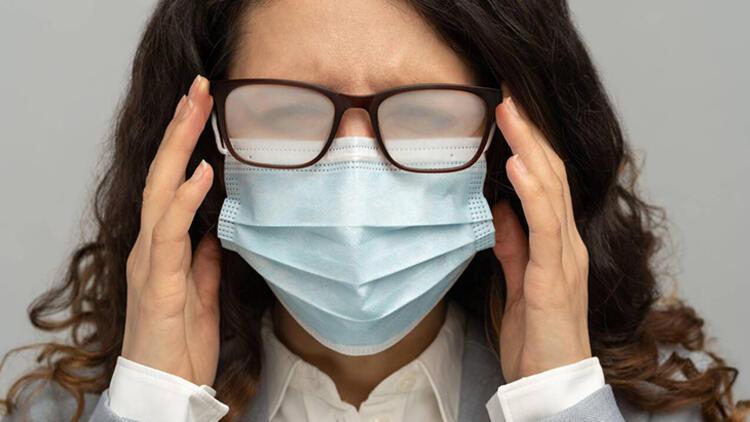1-Maskeyi burnunuza iyice oturtun