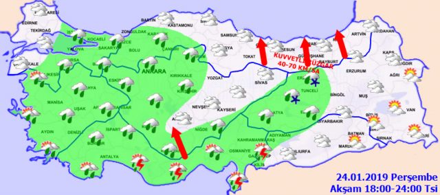 Meteoroloji'den İstanbul için son dakika sağanak yağış uyarısı! 24 Ocak Perşembe hava durumu3