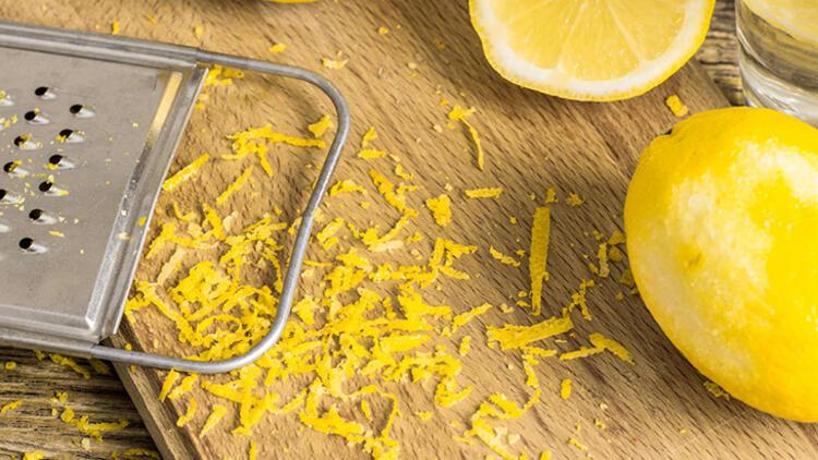 5. Rendenizi yarım limonla temizleyin