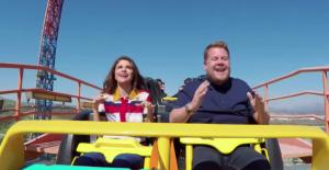 Selena Gomez roller coaster#39;da...