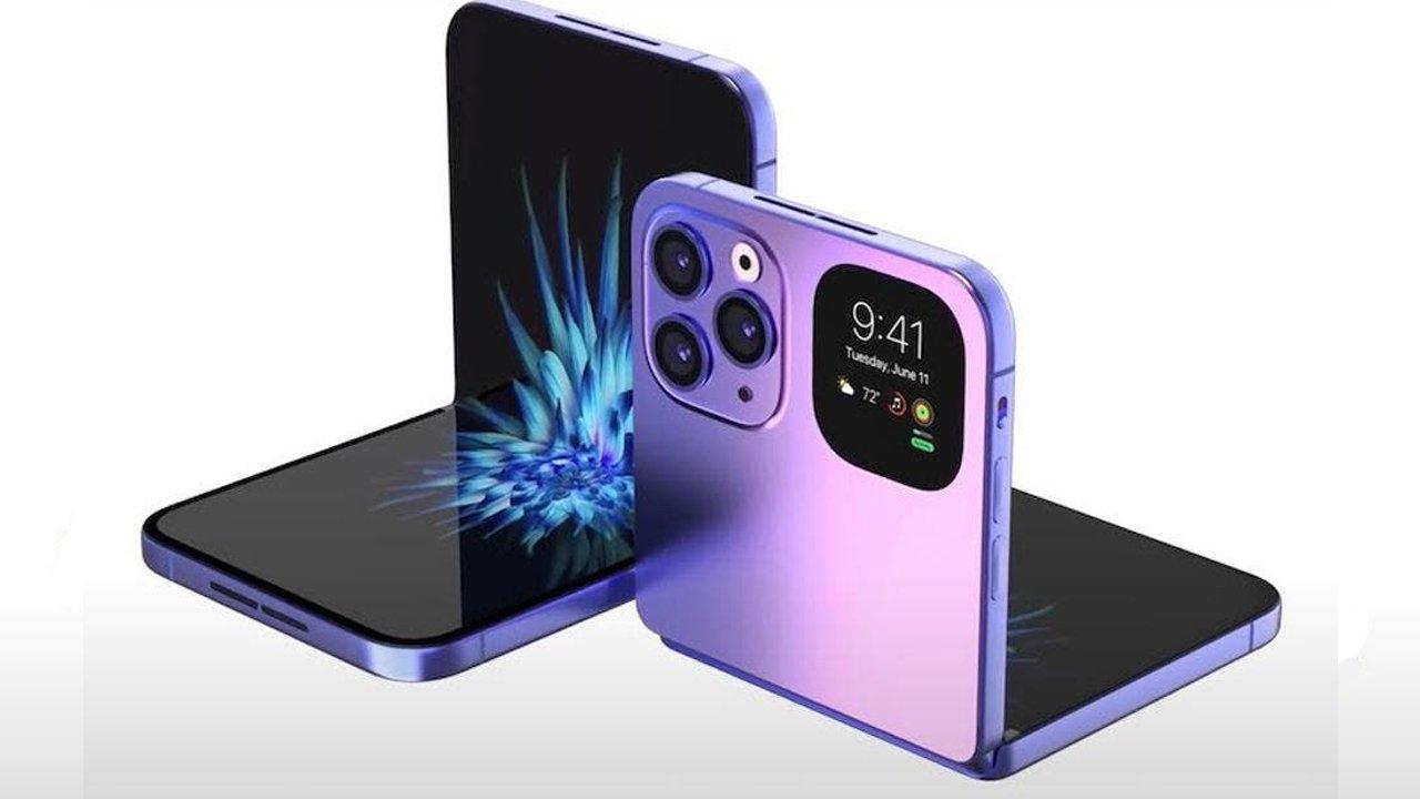 katlanabilir iphone tasarımı