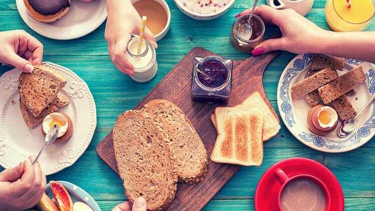 3-Hafif bir kahvaltı yapın