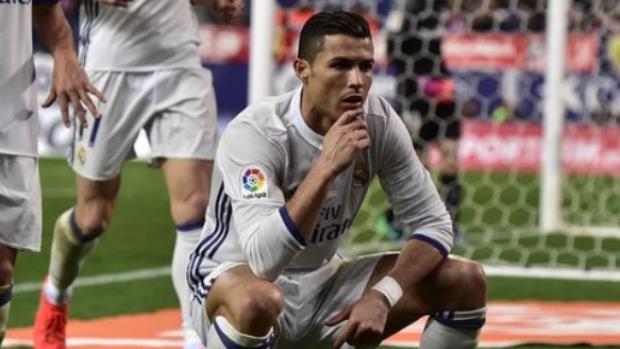 Ronaldo, Atletico Madrid'i 3 golle devirdi