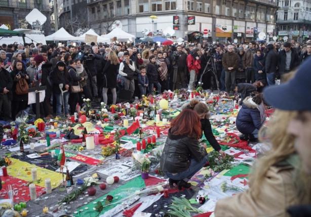 Brüksel Saldırısında Hayatını Kaybedenler Anıldı