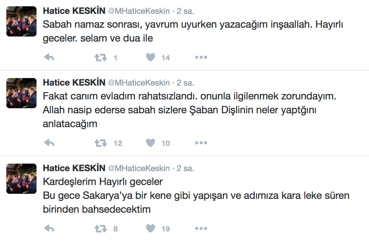 AK Parti Sakarya'dan Hatice Keskin'in Olay Yaratan Açıklamaları