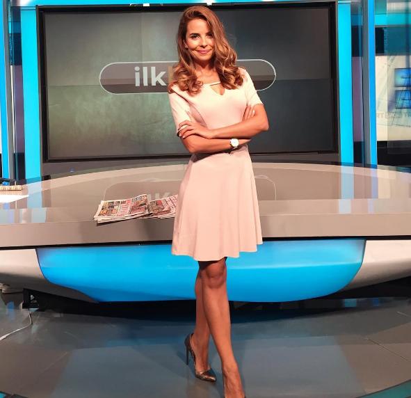 TRT Spor spikeri Deniz Satar'ın güzelliği sosyal medyada