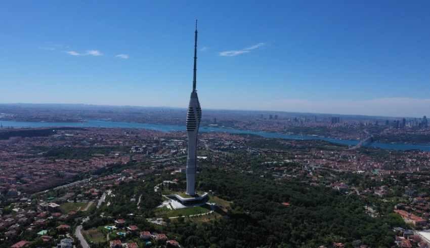 170 milyon liraya ihale edilen Çamlıca Kulesi'nin maliyeti 1.1 Milyarı aştı