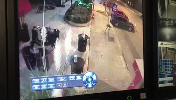 2'si polis 5 kişinin yaralandığı gece kulübü saldırısından yeni görüntüler