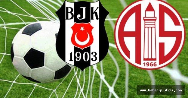 Beşiktaş 1 - 0 Antalyaspor
