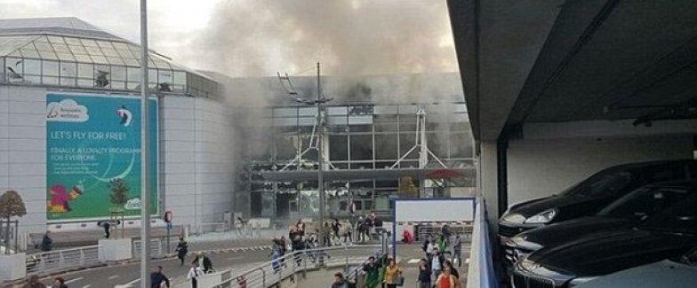 Brüksel havaalanında patlama