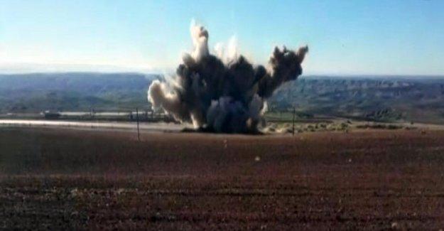 PKK'nın kurduğu tuzaklı bomba son anda fark edildi