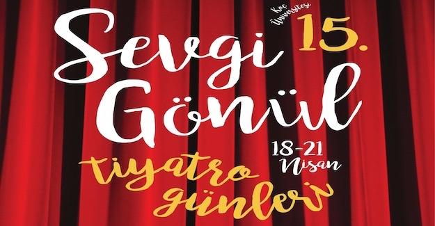 15. Sevgi gönül kültür merkezi tiyatro günleri başlıyor