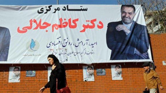 17 milyon İranlı sandık başında