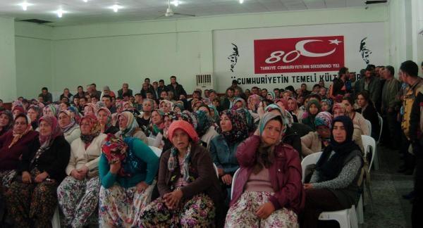 35 kişilik işçi kadrosuna 500 kadın başvurdu