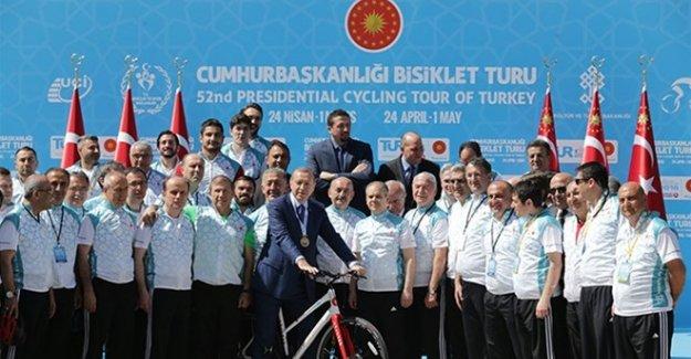 52. Cumhurbaşkanlığı Bisiklet Turu tanıtımı yapıldı