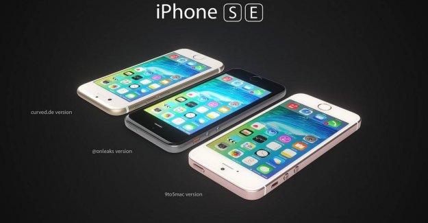 Apple'ın yeni telefonu iPhone SE