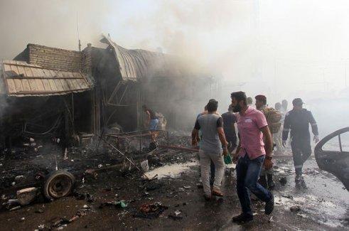 Bağdat'ta intihar saldırısı: 13 ölü