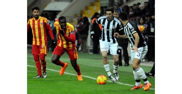 Beşiktaş - Kayserispor maçının ilk 11'leri belli oldu