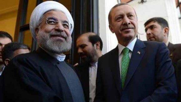 Cumhurbaşkanı Erdoğan, İran Cumhurbaşkanı Ruhani ile ortak basın toplantısı düzenledi