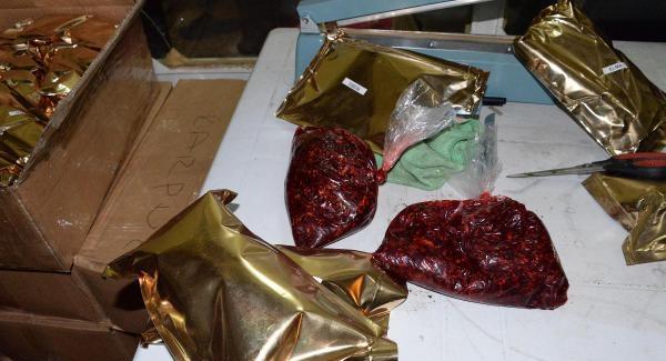 Dıyarbakır'da 7 ton Kaçak Nargile Tütünü