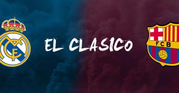 El Clasico ne zaman saat kaçta?