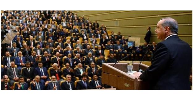 Erdoğan, 23. Muhtarlar Toplantısında Konuştu